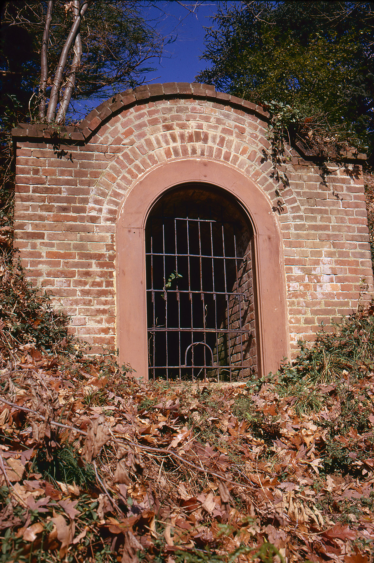 A photo of an old ice house taken in 1972 (MVLA)