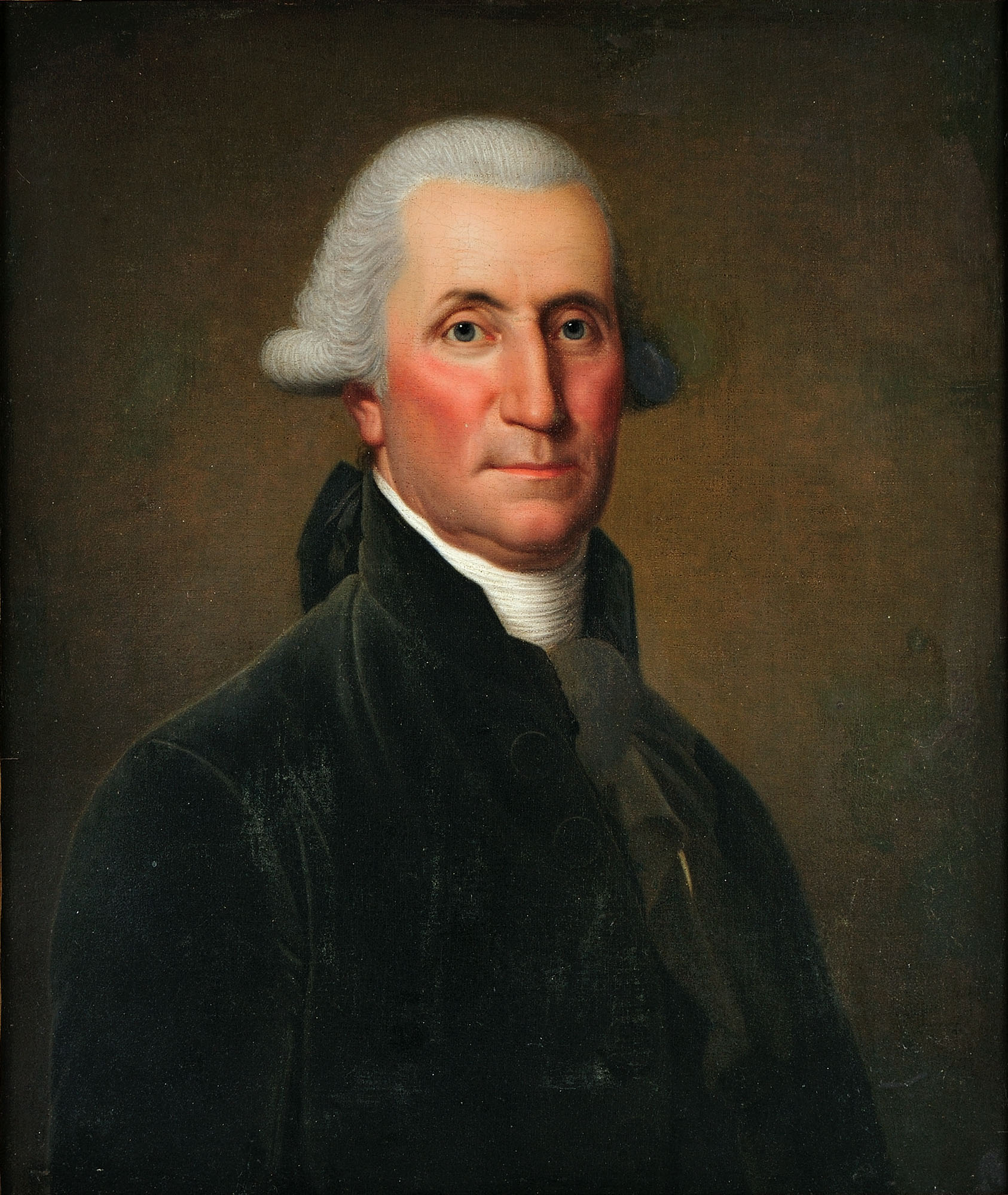 George Washington, by Adolf Ulrik Wertmüller, 1794. Purchased by the Connoisseur Society of Mount Vernon, 2011 [W-4902]. (Edward Owen)