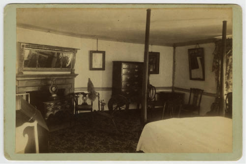 Pennsylvania Room, 1884-1894. Image from Mount Vernon Digital Collections, photo identifier DA_001005