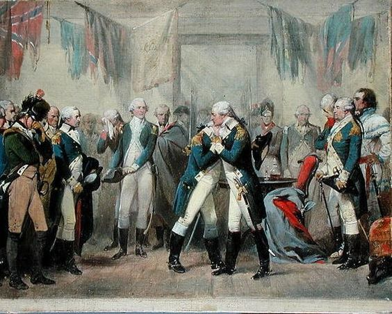 Image result for gen george washington says farewell to his troops in new york