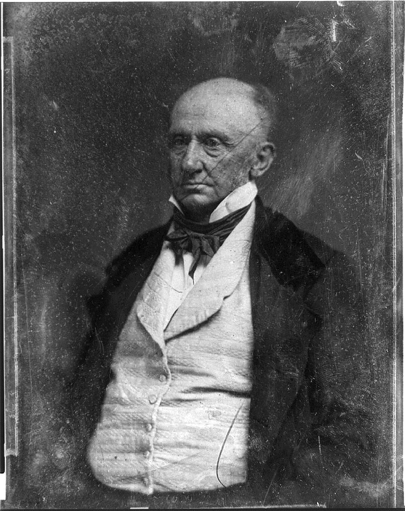 Daguerrotype of George Washington Parke Custis by Mathew Brady, c. 1844-1849. Library of Congress call no. DAG no. 207