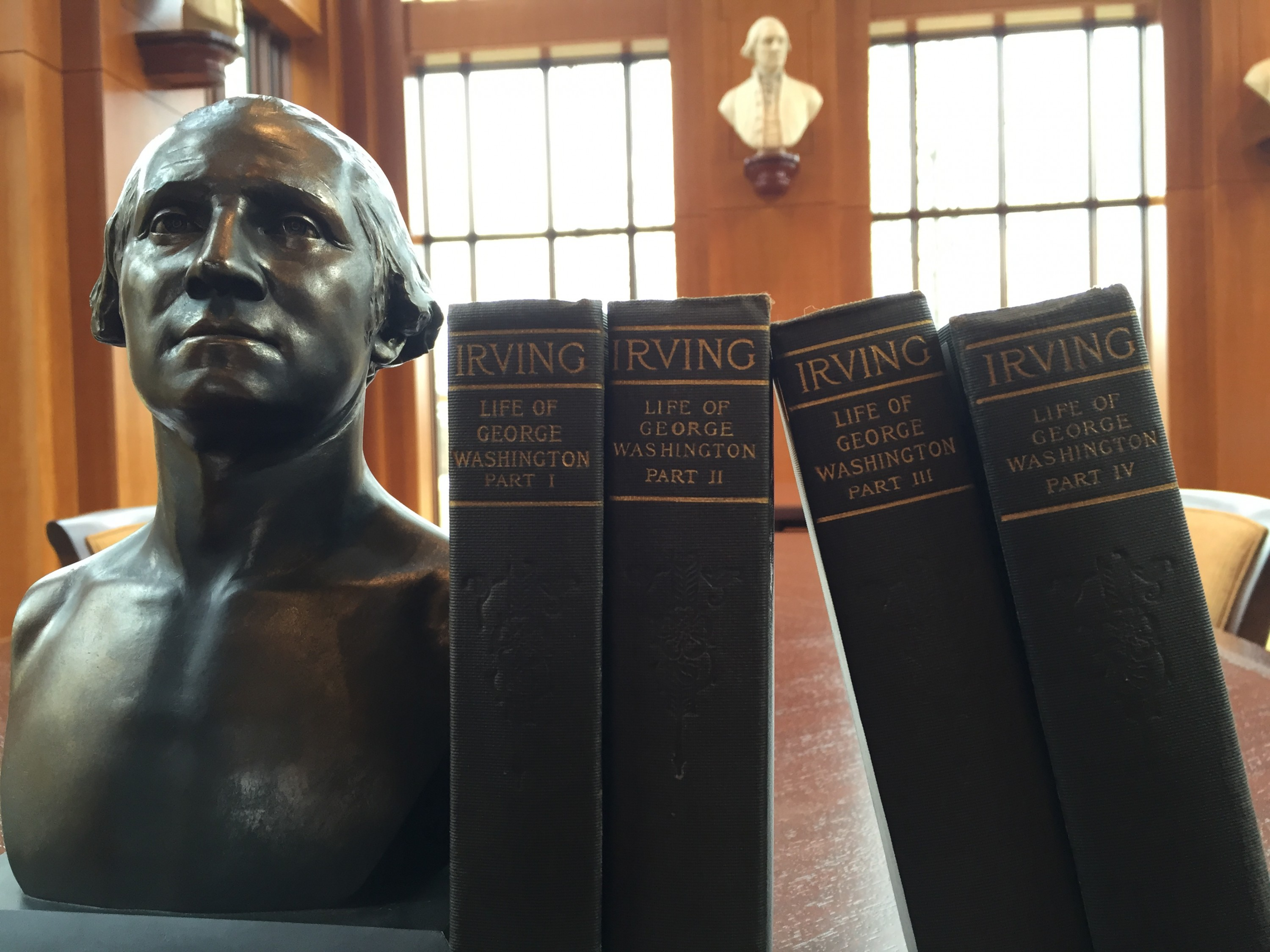 Washington Irving's Life of George Washington in the Washington Library - MVLA