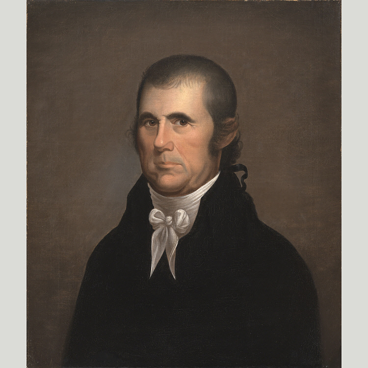 John Marshall, by Cephas Thompson, 1809-1810. National Portrait Gallery NPG.2010.48