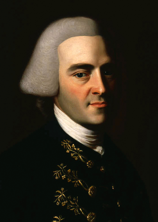 John Hancock, by John Singleton Copley, Courtesy The Massachusetts Historical Society [553].