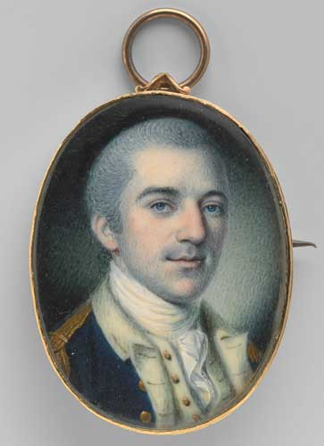 John Laurens by Charles Willson Peale, 1780. National Portrait Gallery, Smithsonian Institution.