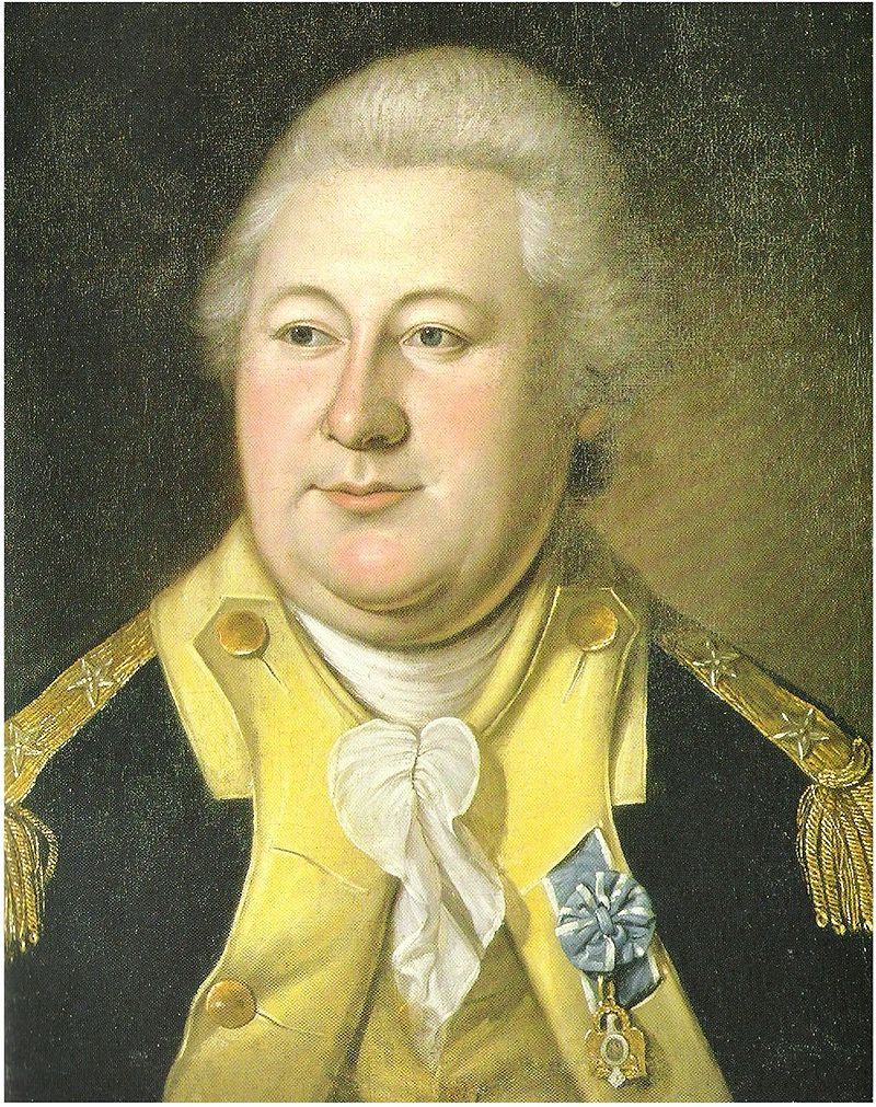 Charles Willson Peale's portrait of Henry Knox, 1784