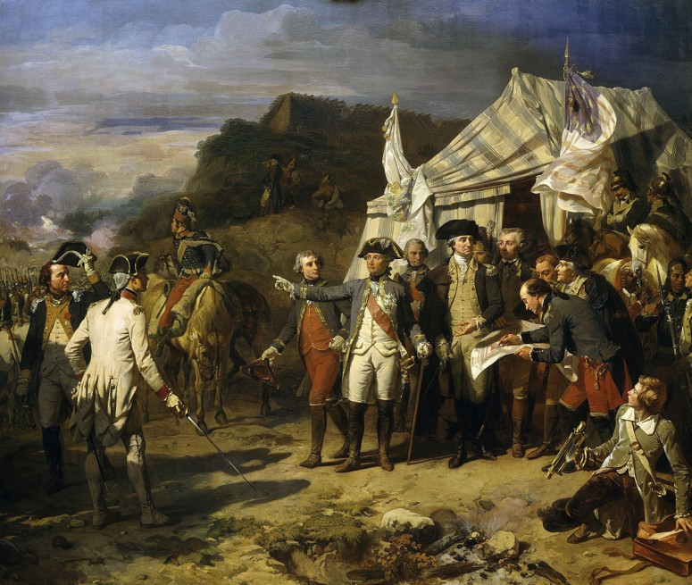 Washington and Rochambeau at Yorktown (Art Resource)
