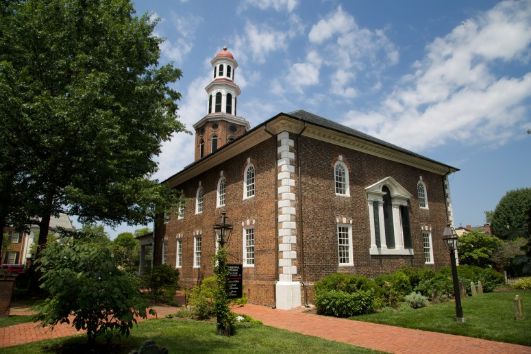 Christ Church in Alexandria, Virginia.