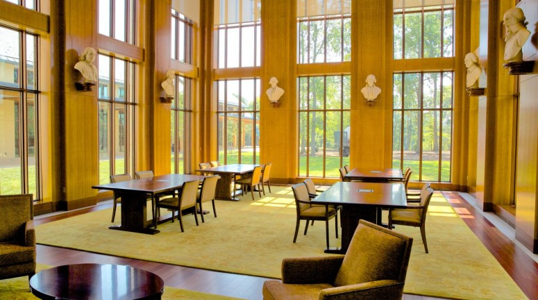 The Reading Room at the Fred W. Smith National Library
