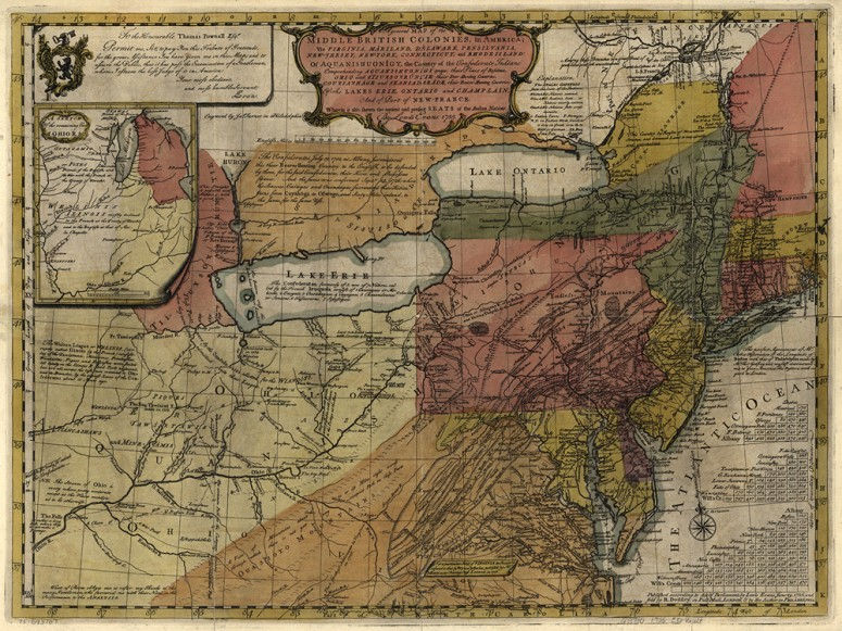 To Pennsylvania Maps French Indian Wars Americas - Washington on the us map
