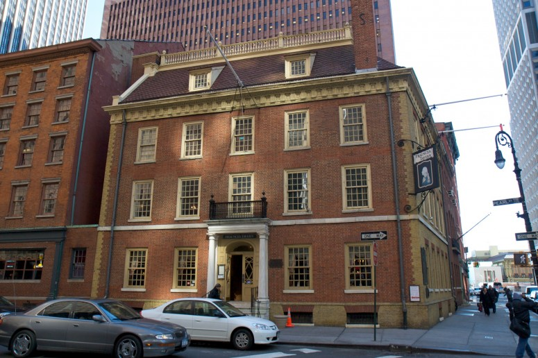 Fraunces Tavern in the Wall Street section of New York City (Rob Shenk)