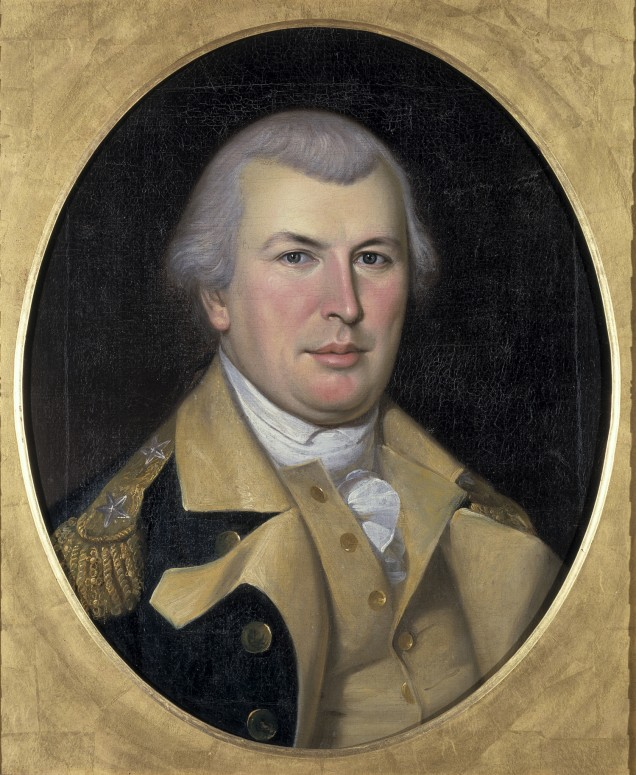 Portrait of Nathanael Greene, by Charles Willson Peale, 1783