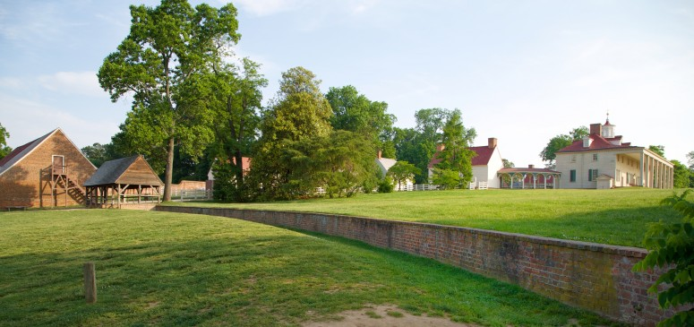 A Ha-Ha Wall at Mount Vernon