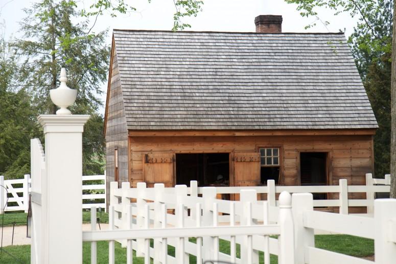 The Blacksmith Shop at Mount Vernon. (MVLA)
