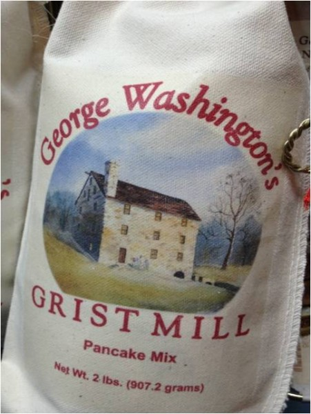 Mount Vernon's gristmill still produces fine quality flour to sale today (Mount Vernon Ladies' Association)