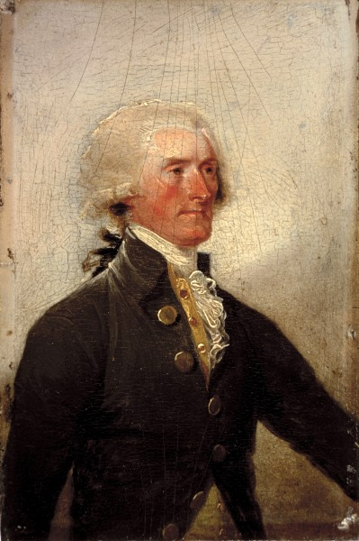 Thomas Jefferson, 1788 (White House Historical Association)