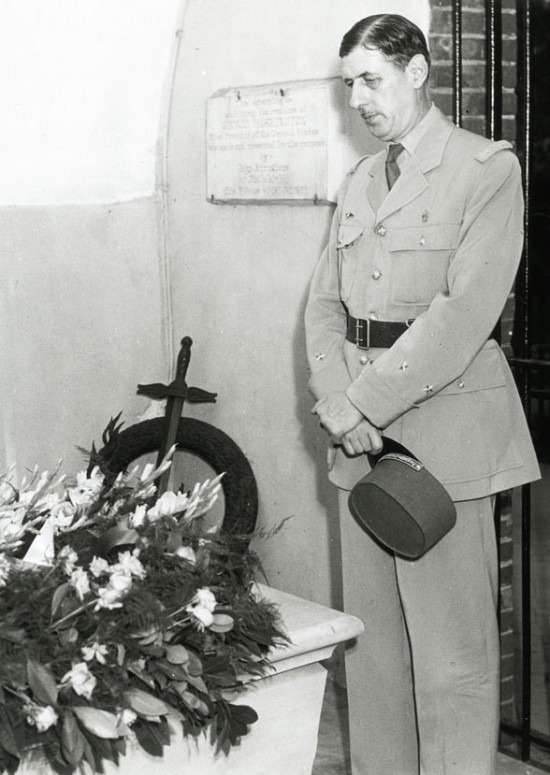 Charles de Gaulle, July 7, 1944 (Mount Vernon Ladies' Association)