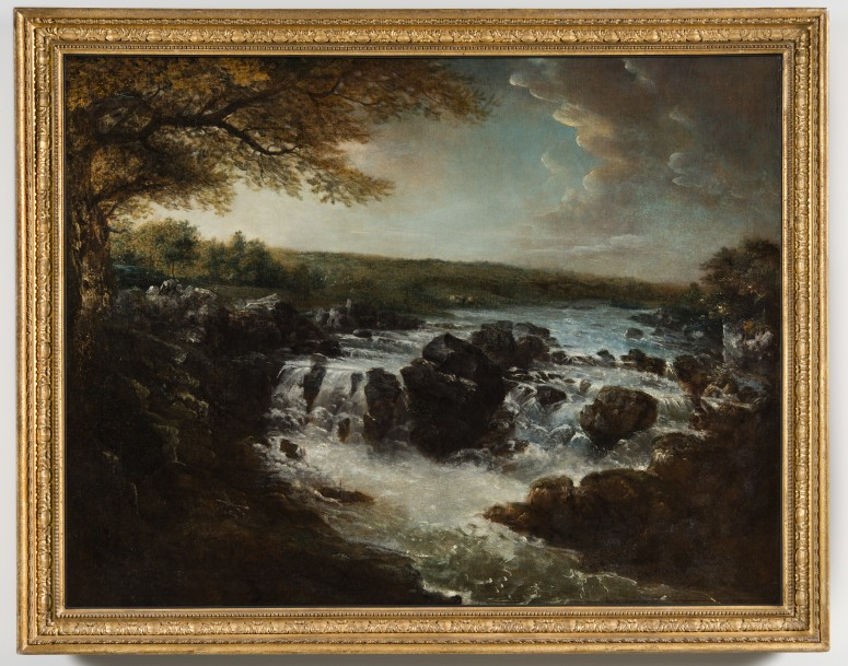 George Beck, Great Falls of the Potomac, 1797.