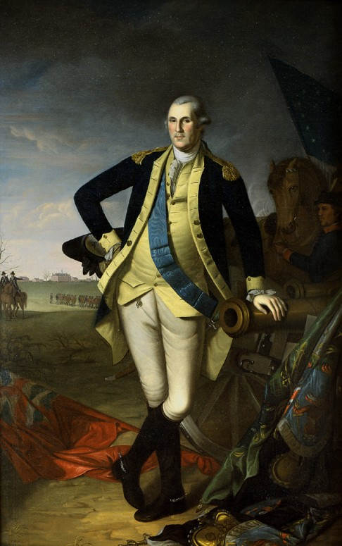 George Washington at Princeton, by Charles Willson Peale, 1779.