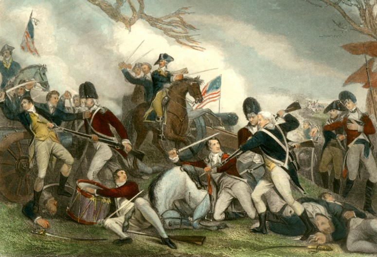 the american revolutionary war the battles of trenton and princeton Ace your american history class  home george washington the revolutionary war the trenton-princeton  the subsequent victories at the battles of second trenton .