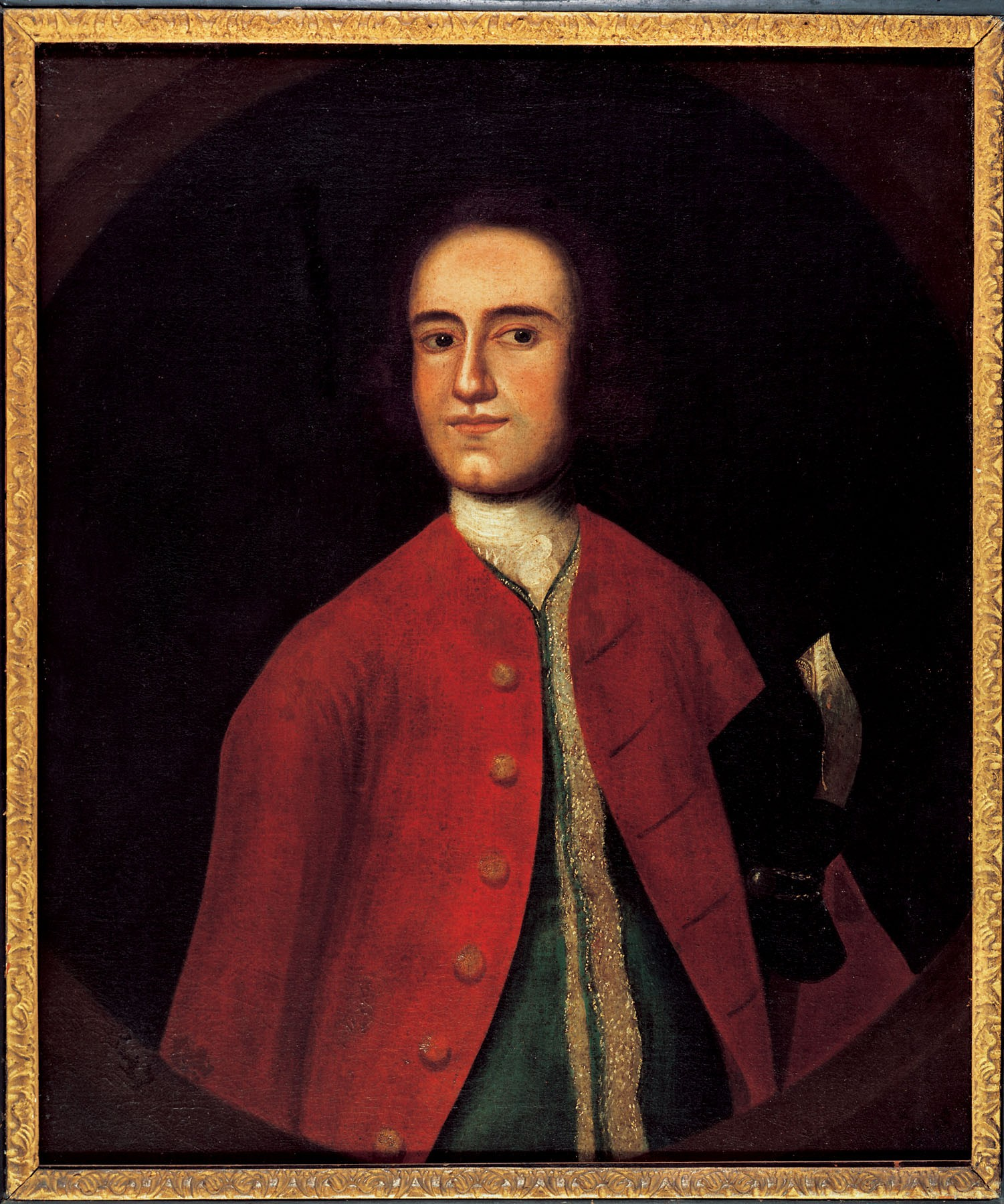Lawrence Washington, by unknown artist, c. 1743. Purchase, 1936 [W-126]