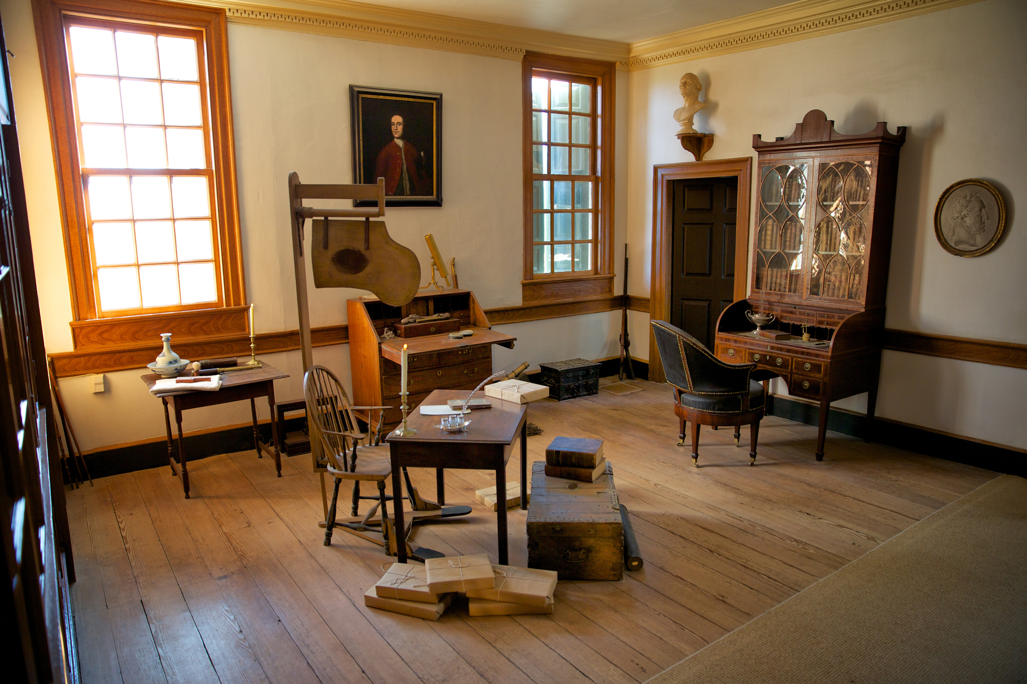 Washington's Study at Mount Vernon