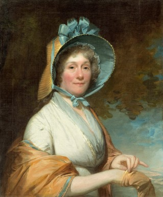 Henrietta Marchant Liston (Mrs. Robert Liston), by Gilbert Stuart, 1800. Courtesy National Gallery of Art, Washington.