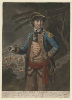 Benedict Arnold  (Anne S.K. Brown Military Collection)