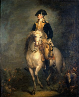 George Washington, painted by Rembrandt Peale, 1830. Gift of Sarah Potter Tatham in memory of her husband Edwin Tatham, 1934 [H-54]