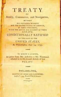 The Jay Treaty of 1794