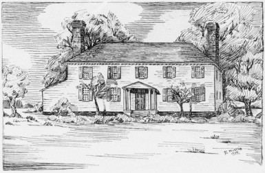 Chestnut Grove, Birthplace of Martha Washington (Virginia Historical Society)