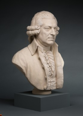 Bust of John Adams at the Fred W. Smith National Library (Mount Vernon Ladies' Association)