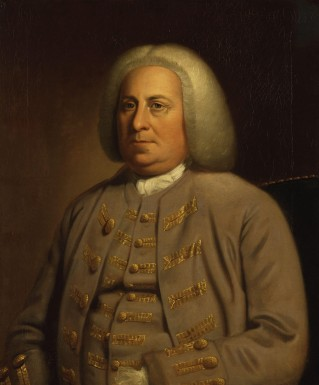 Lieutenant Governor Robert Dinwiddie (National Portrait Gallery)