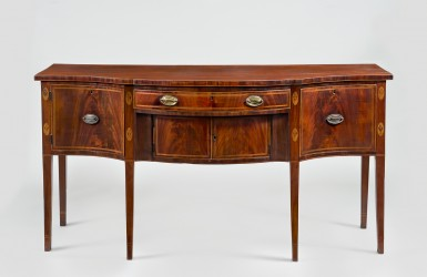 Sideboard, 1797, by John Aitken. Gift of George Washington Custis Lee, 1908 [W-94]. Photograph by Gavin Ashworth.