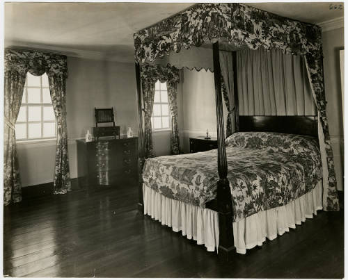 Lafayette Room, 1935. Image from Mount Vernon Digital Collections, photo identifier DA_001028