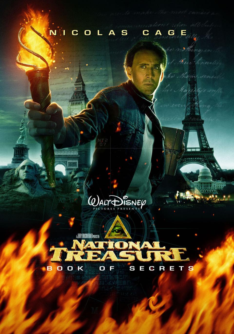 national treasure book of secrets 183 george washingtons