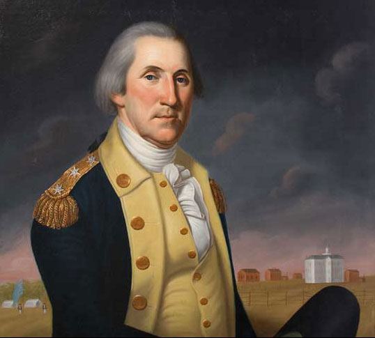 George Washington at Princeton by Charles Peale Polk (American, 1767-1822), c. 1788, oil on canvas, M-4853, Mount Vernon Ladies' Association.