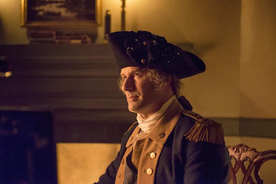 Ian Kahn as General Washington (AMC)