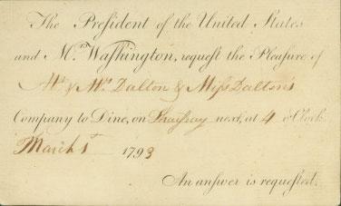 Martha Washington During the Presidency · George Washington's ...