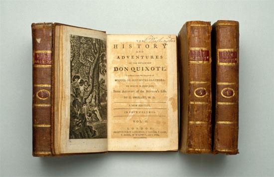 George Washington's personal copy of Don Quixote