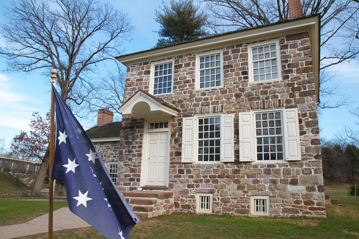 Washington's headquarters at Valley Forge (Rob Shenk)