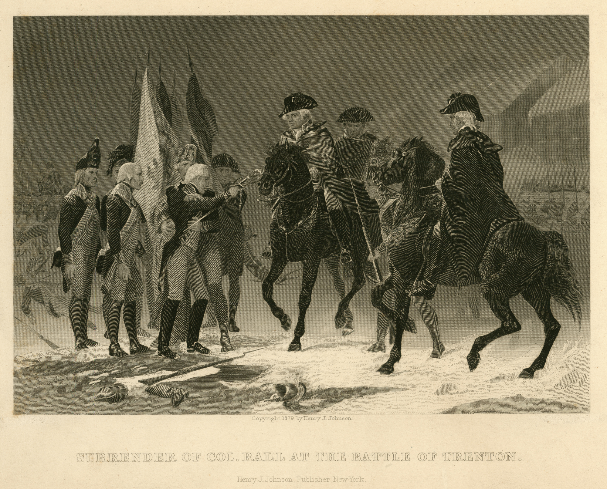 The Surrender of Col. Rall at the Battle of Trenton (MVLA)