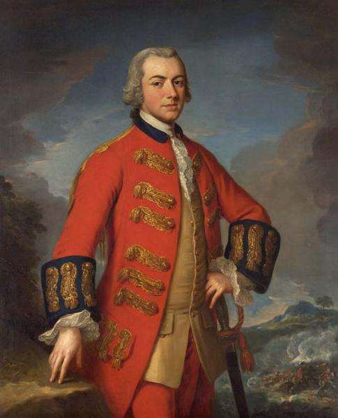 Portrait of Sir Henry Clinton, by Andrea Soldi, ca. 1762-1765. [1964.70.1]. Courtesy American Museum in Britain, Bath, U.K.