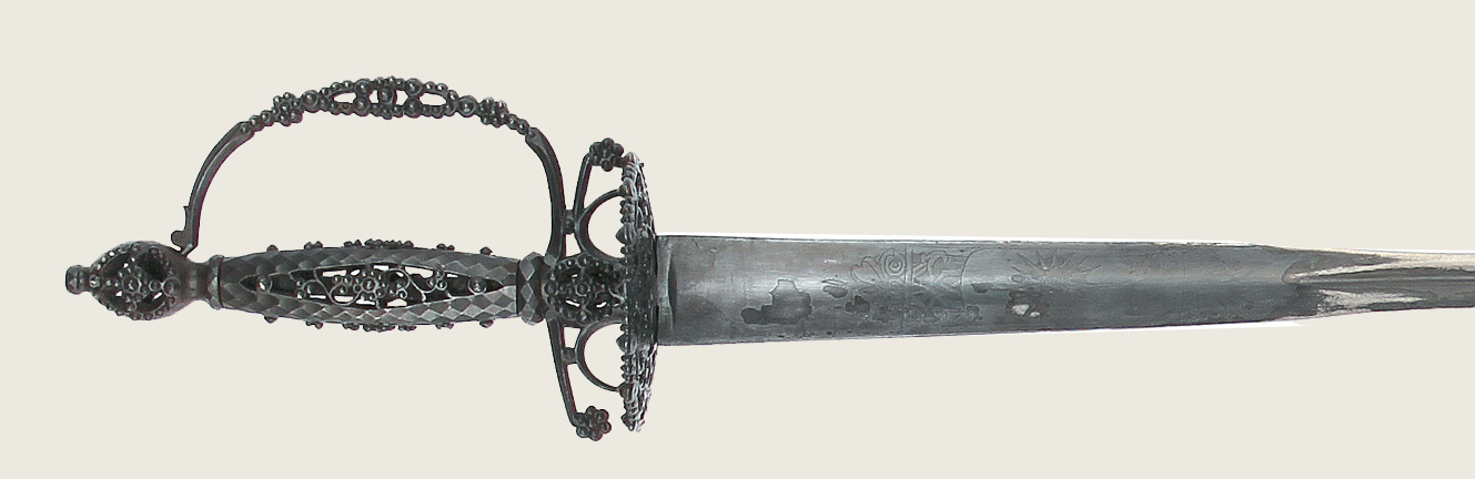 Washington's Steel-Hilted Smallsword (New York State Library, Albany, New York)