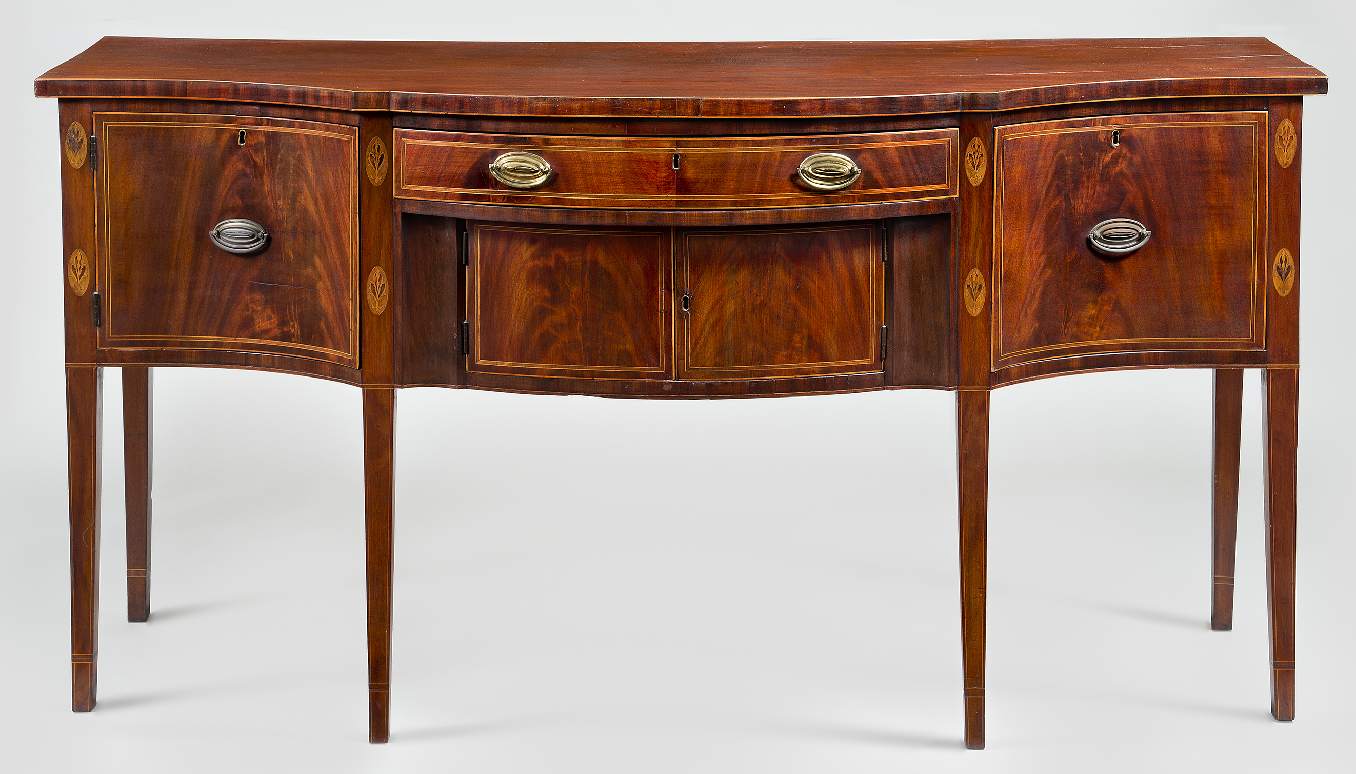 Learn about the sideboard crafted by cabinetmaker John Aitken.