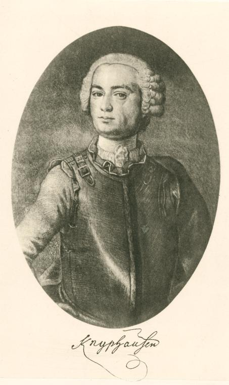 Wilhelm von Knyphausen. Courtesy New York Public Library.