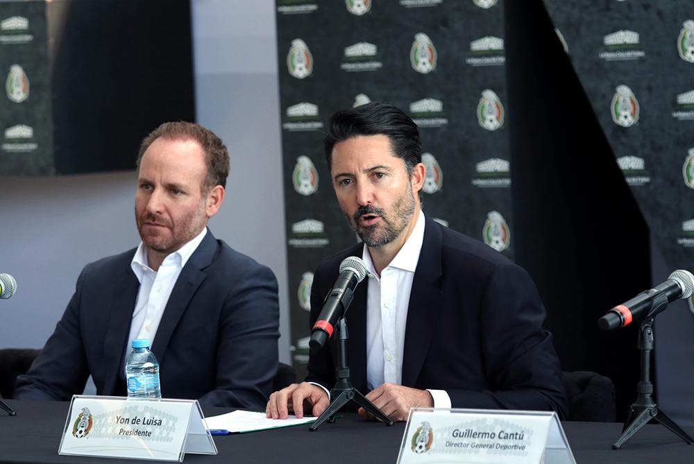Yon de Luisa, actual presidente de la Federación Mexicana de Futbol