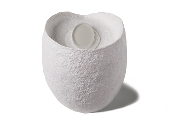 Picture of a biodegradable funeral urn