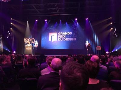 GRANDS PRIX DU DESIGN 2018 Gala