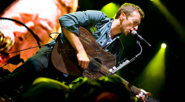 Coldplay Splendour - CREDIT: Dan O
